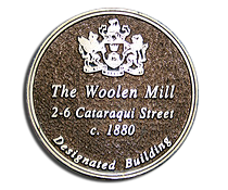 the Kingston Woolen Mill